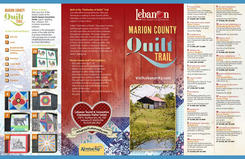 Marion County Quilt Trail