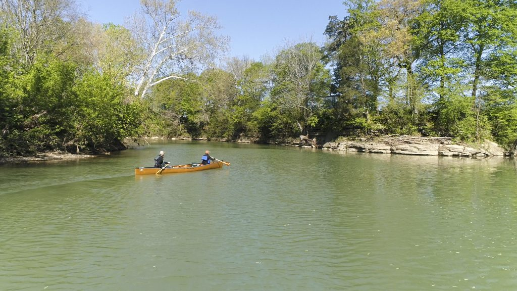 Canoe down the Rolling Fork River